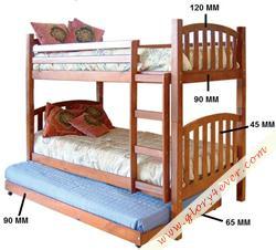 CAMAROTE BUNK BED